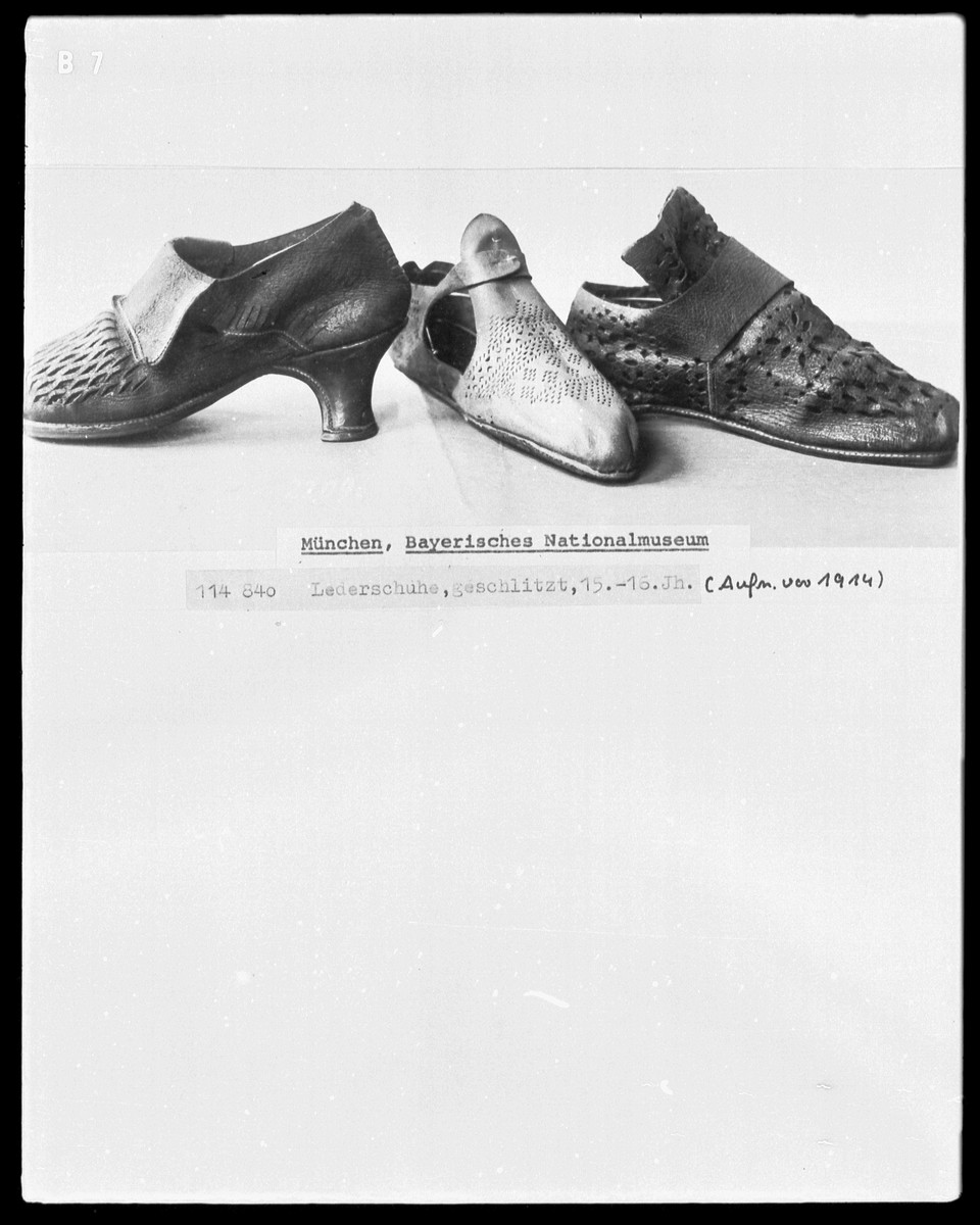 16th Century Shoes 15th And 16th Centuries
