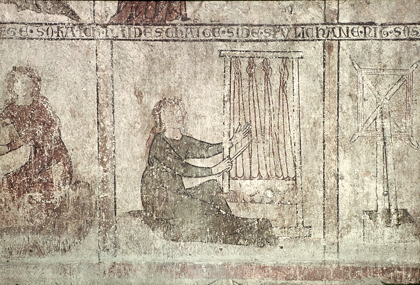 Weaving, Looms | Middle Ages and Renaissance