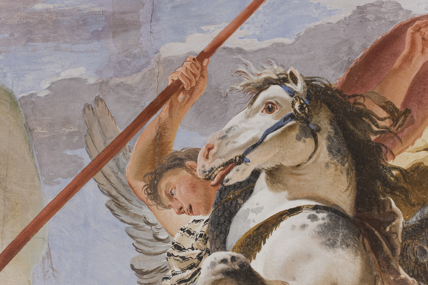 Venezianische Palazzi um 1700