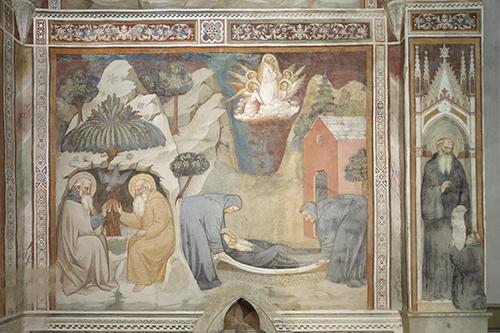 Florenz, Villa Le Campora, Freskenzyklus mit Szenen aus der Vita des heiligen Antonius. Aufnahme: Rabatti - Domingie Photography, 2015