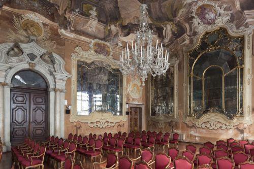 Venedig, Ca' Dolfin di San Pantalon, Salone, Blick von Südwesten; Aufnahme: Thomas Scheidt / Christian Stein 2009